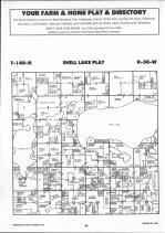 T140N-R38W, Becker County 1992 Published by Farm and Home Publishers, LTD